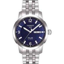 Tissot T0144301104700 Watch PRC 200 Mens - Blue Dial