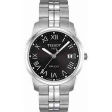 Tissot T0494101105301 Watch PR 100 Mens - Black Dial