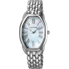Tsumori Chisato Turtle Ladies Watch with Silver Metal Band