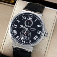 Ulysse Nardin stainless steel marine chronometer