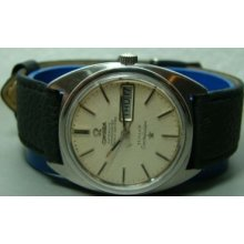 Vintage 1967 Omega Automatic Constellation Mens Wrist Watch 28030731 Old Used