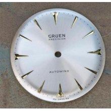 Vintage Gruen Autowind Cal 710 Dial Old Stock Swiss