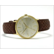 Vintage Iwc, Turler Dial, Automatic, Cal. 853, Solid 18k Gold Watch Inv 109