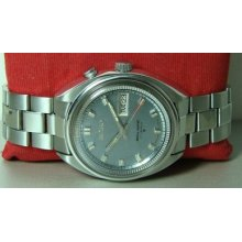 Vintage Seiko Bellmatic Alarm Automatic Day Date 025266 Old Used Watch Antique