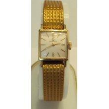 Vintagecertinaswiss,gold Plated Ladies Watch ,worksserviced 396
