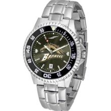 Western Michigan Broncos WMU NCAA Mens Competitor Anochrome Watch ...