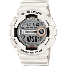 White Casio G-Shock 60 Lap Sport Digital Watch GD110-7