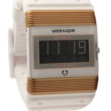 Wize & Ope Unisex Seventy Seven Digital Watch Wo-77-2 With Black Dial And Touch Screen