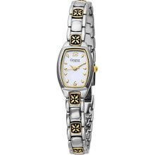 Women's Caravelle By Bulova Bracelet Silver Dial Watch - 45l010