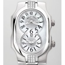 Women's Philip Stein Small Signature Sport Double 24-Diamond Watch