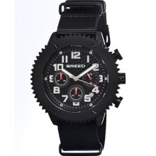 Breed 1501 Decker Mens Watch Low Price Guarantee + Free Knife