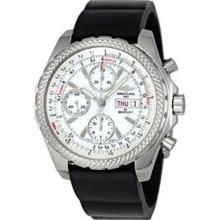 Breitling Bentley GT Ice White Dial Chrono Mens Watch A1336212-A726BKRD
