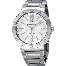 Bvlgari Bvlgari Automatic White Dial Stainless Steel Mens Watch 101381