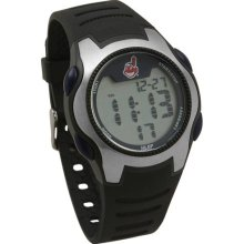 Cleveland Indians watches : Cleveland Indians Training Camp Watch - Silver/Black