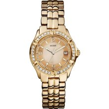 Guess U11069L1 Rose Gold Dial Rose Gold Tone Women's Watch