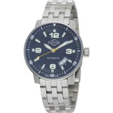 Gv2 By Gevril Men's 4001b Stadium Automatic Stainless Steel Bracelet Watch