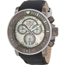 Invicta Men's 10720 Sea Hunter Chronograph Silver Grey Dial Watch