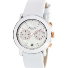 Kenneth Cole Ladies' Chronograph Mother of Pearl Dial KC2688 Watch