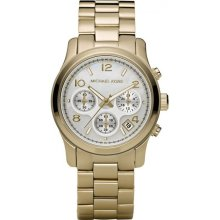 Michael Kors Mother of Pearl Dial Chronograph Ladies Watch MK5305