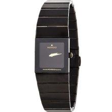Movado 84.c1.310.2 Stainless Steel Black Swiss Made Quartz Ladies Watch