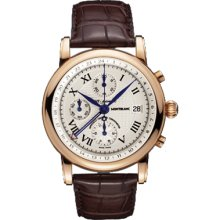 New Montblanc Star Chronograph Gmt Automatic Mens Watch 101637