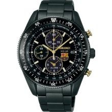 Seiko PROSPEX Speed Master FC Barcelona official limited Watch SBDL009