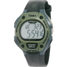 Timex Green One-Size T5K5209J Men'S T5K520 Ironman Traditional 30-Lap Black Dark Green Resin Strap Watch