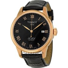 Tissot T41542353 Watch T Classic Le Locle Mens - Black Dial Stainless Steel Case Automatic Movement