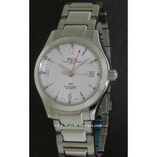 Ball Engineer I I wrist watches: Ohio Gmt Silver Dial gm1032c-s2cj-sl