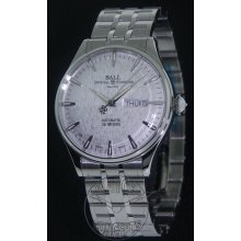 Ball Trainmaster wrist watches: Eternity Silver Dial nm2080d-sj-sl
