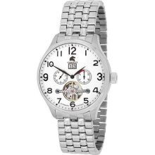 Carucci Ca2143wh Automatic Mens Watch ...