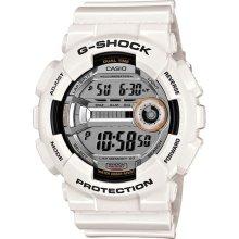 G-Shock GD110-7 Lap Memory 60 White Watch