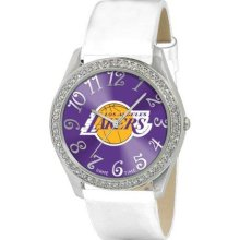 Game Time Official Team Colors. Nba-Gli-Lal Women'S Nba-Gli-Lal Glitz Classic Analog Los Angeles Lakers Watch