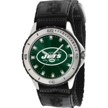 Game Time Official Team Colors. Nfl-Vet-Nyj Men'S Nfl-Vet-Nyj Veteran Custom New York Jets Veteran Series Watch
