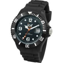 Ice-Watch Sili Collection Black Silicone Unisex Watch SIBKUS09