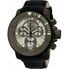 Invicta Sea Hunter Chronograph Grey Dial Mens Watch 10719
