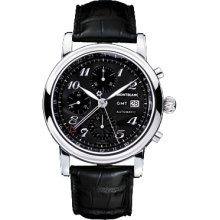 New Montblanc Star Chronograph Gmt Automatic Mens Watch 101638