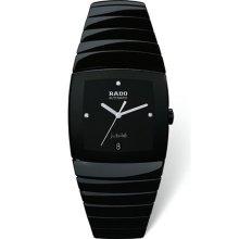 Rado Sintra Jubile Chronometer 34 x 44 mm Watch - Black Dial, Black Ceramic Bracelet R13663702 Chronograph Sale Authentic