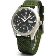 Seiko 5 Military Automatic Sports SNZG09J1 SNZG09J SNZG09 Men's Japan Made Watch