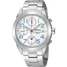 Seiko Criteria Chronograph 50m Ladies Watch Sndz49p1