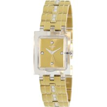 Swatch Women's Originals SUBK151G Gold Stainless-Steel Swiss Quartz Watch with Gold Dial