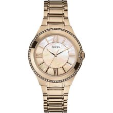 Watch Guess Moonbeam W15077l1 Women´s Mother Of Pearl